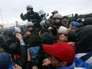 Nouvelle accélération des départs de migrants, la Slovénie débordée
