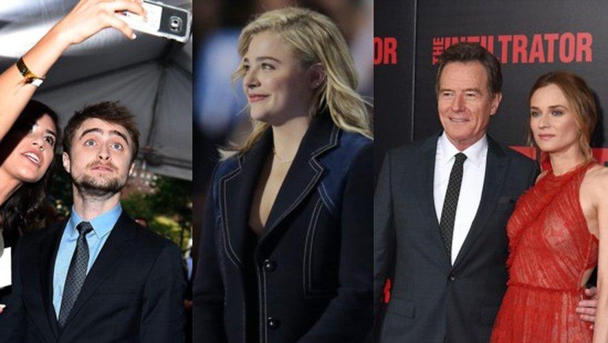 Daniel Radcliffe, Chloë Grace Moretz, Bryan Cranston, Diane Kruger et autres stars de Deauville 2016