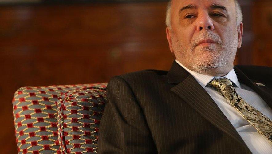 Le Premier ministre irakien Haider al-Abadi au Waldorf Astoria le 25 septembre 2014 à New York City