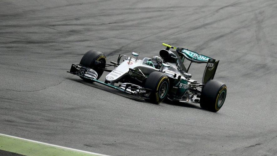 L'Allemand Nico Rosberg (Mercedes) lors du GP d'Italie de F1 sur le circuit de Monza, le 4 septembre 2016