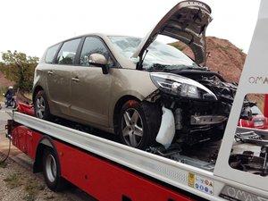 Espalion: quatre blessés dans une collision
