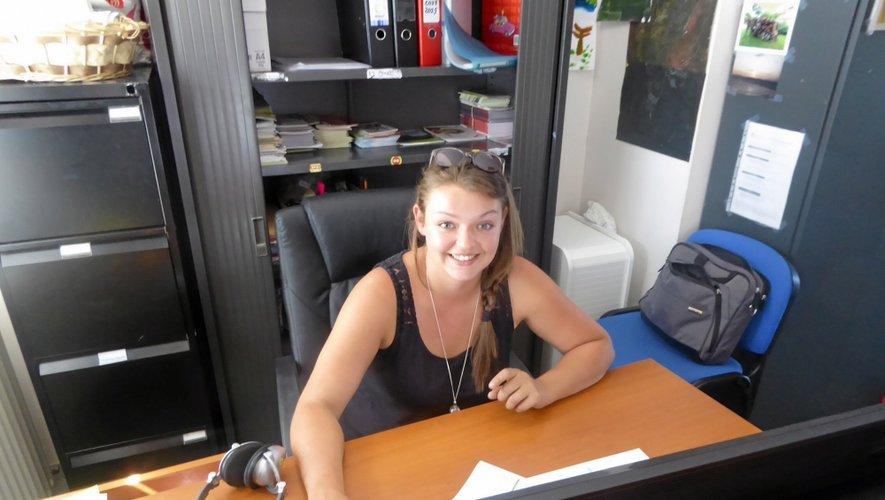 Ancienne volontaire, Camille Plagnard est désormais salariée de l'association.