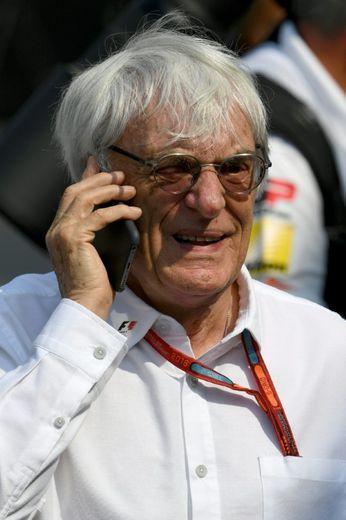Bernie Ecclestone, le 2 septembre 2016 à Monza