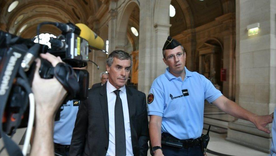 L'ex-ministre du Budget Jérôme Cahuzac, le 5 septembre 2016 au Palais de justice de Paris