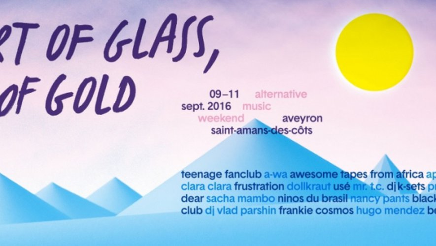 Le festival Heart Of Glass, Heart Of Gold pose ses valises en Aveyron