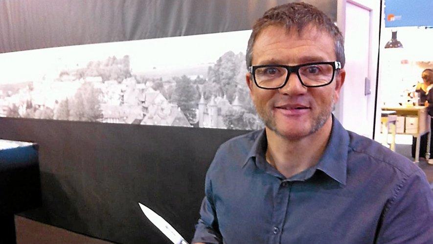 Thierry Moysset, directeur de La Forge de Laguiole.