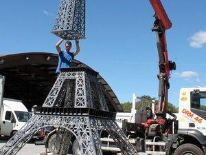 La Tour Eiffel s'invite à la foire-expo de Villefranche