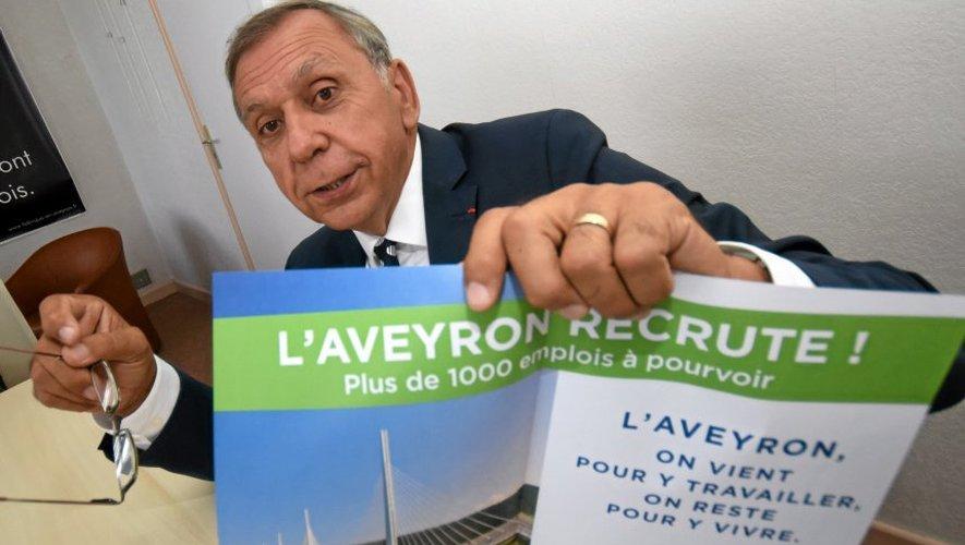 Pour le président du conseil départemental, Jean-Claude Luche, il s'agit d'attirer de nouveaux actifs afin d'atteindre le plus rapidement possible le cap symbolique des 300 000 habitants.