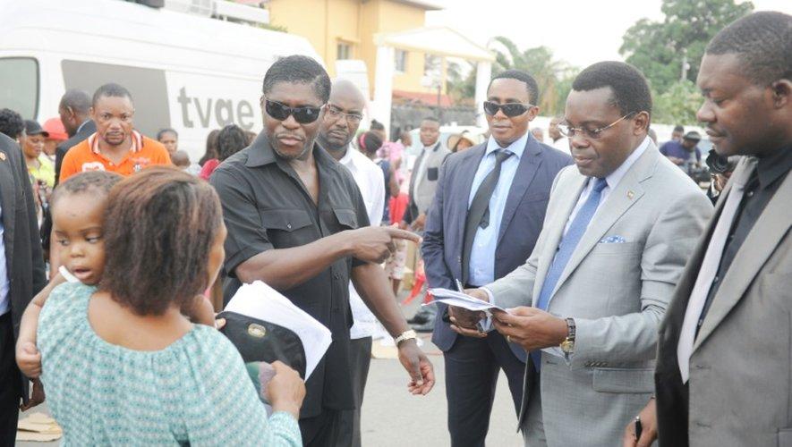 Teodorin Obiang Nguema le 23 décembre 2014 à Malabo