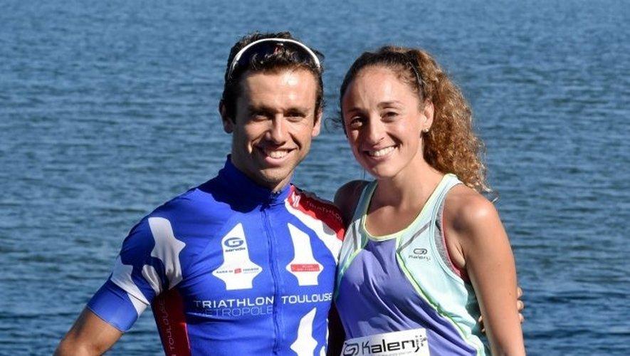 Avec sa compagne Laurie Belkadi, Aurélien Lescure s'est alignée en relais sur le triathlon format XS, samedi à Villefranche-de-Panat. Comme attendu, le couple a remporté haut la main l'épreuve.