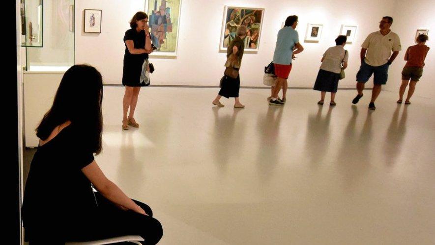 L'exposition Picasso au musée Soulages n'est certainement pas pour rien dans la bonne tenue du tourisme aveyronnais au mois d'août.