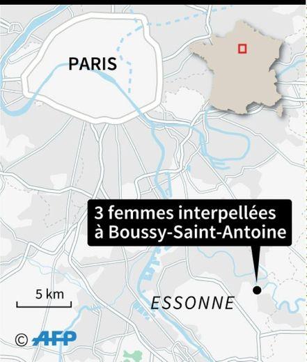 Interpellations de 3 femmes à Boussy-Saint-Antoine