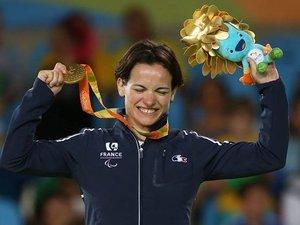Les attaches aveyronnaises de la judoka Sandrine Martinet-Aurières