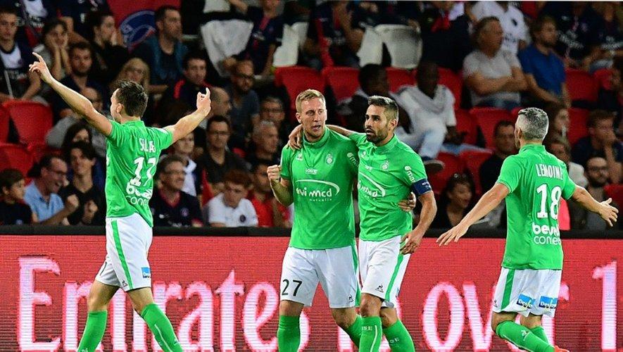 Les Stéphanois ont ramené un match nul du Parc des Princes face au PSG, le 9 septembre 2016