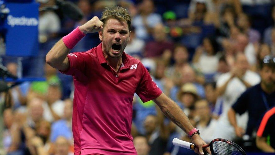 La rage de Stan Wawrinka, vainqueur de Kei Nishikori à l'US Open, le 9 septembre 2016