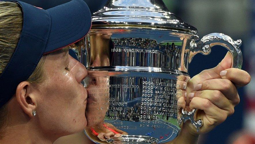 US Open: Kerber, dans l'ombre de Graf
