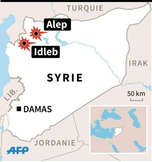 Frappes aériennes en Syrie