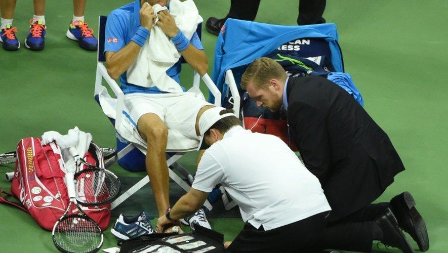 Baromètre de l'US Open: sale temps pour les N.1 mondiaux, Wawrinka et Kerber foudroyants