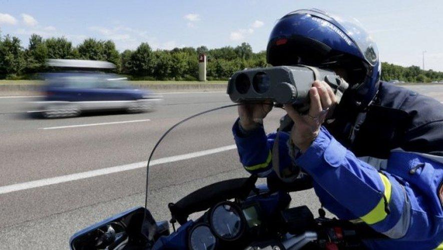 Le peloton autoroutier de Millau a interpellé le conducteur sur l'A75 à hauteur de Saint-Georges de Luzençon.