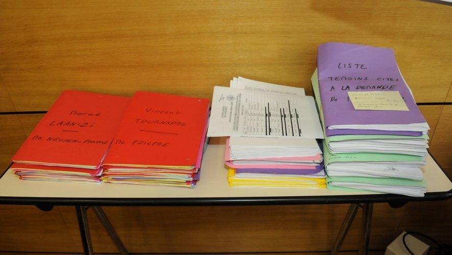 La valse des 18 accusés se poursuit cette semaine à la barre de la cour d'assises de l'Aveyron.