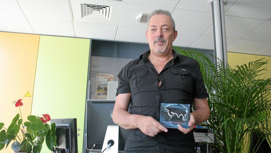 Dominique Verol s'est lancé dans une belle entreprise en réalisant un disque à distance avec Eva Jones. Une expérience qu'il compte bien rééditer.
