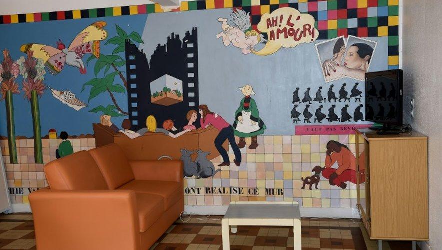 """Le salon du premier centre de """"prévention, d'insertion et de citoyenneté"""", destiné à l'accueil de jeunes en voie de radicalisation islamiste, le 13 septembre 2016 à Beaumont-en-Véron (Indre-et-Loire)"""