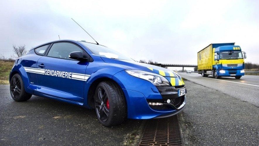Les gendarmes du peloton autoroutier de Millau ont intercepté l'automobiliste sur l'A75.