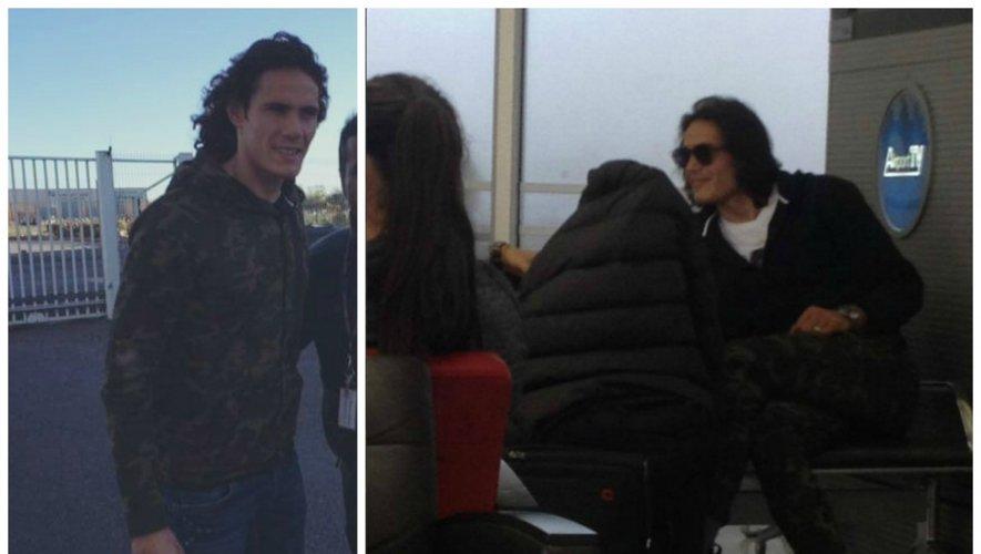 Deux photos du footballeur ont circulé sur les réseaux ces derniers temps. L'une a été prise à l'aéroport d'Orly alors que le joueur s'apprêtait à embarquer. La seconde, à l'aéroport de Rodez, a été prise la semaine dernière.
