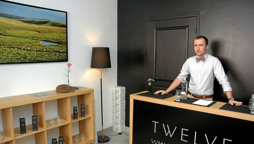 Un look très classe et très british pour la boutique laguiolaise de Twelve