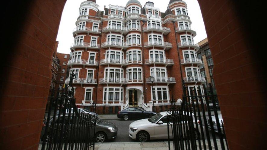 L'ambassade de l'Equateur à Londres où Julian Assange est reclus depuis 5 ans