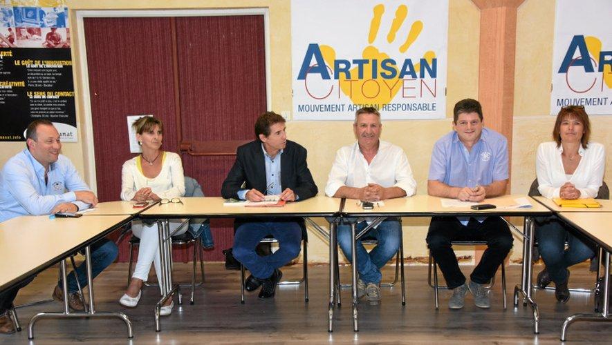 L'équipe d'Artisan Citoyen est particulièrement critique avec la gestion de l'actuelle présidente, Christine Sahuet.