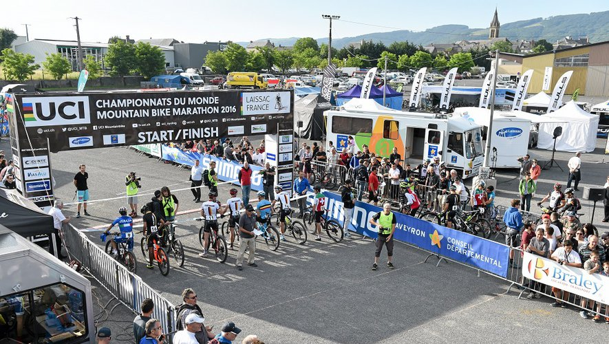 Un an après l'organisation du Mondial de VTT marathon, Laissac pourrait accueillir l'énorme barnum de la Grande Boucle!