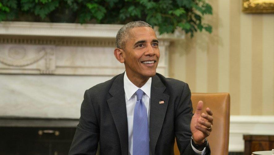 """""""J'aimerais que l'élection présidentielle porte sur des sujets plus sérieux que celui-ci"""", a dit, consterné, Barack Obama, le 16 septembre depuis la Maison blanche"""