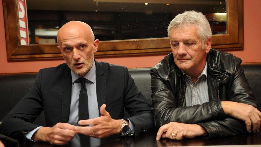 Stéphane Mazars et Daniel Rozoy.