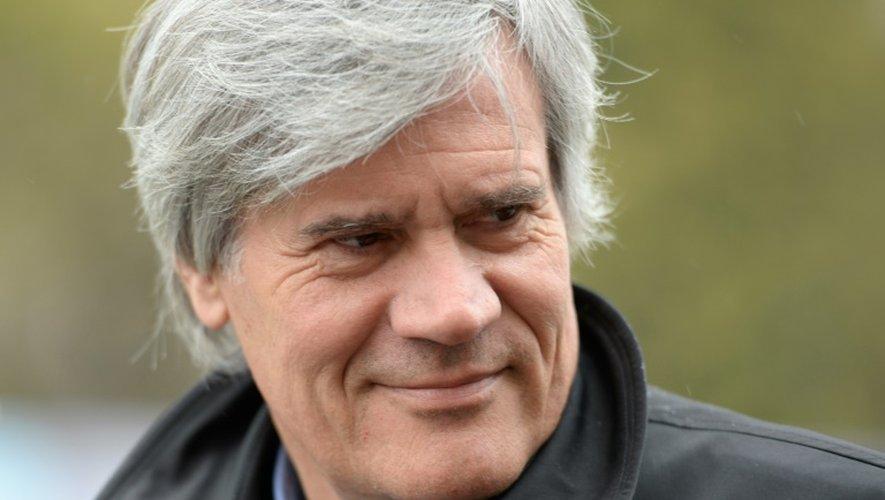 Stéphane Le Foll, ministre de l'Agriculture, le 16 octobre 2015, à Paris
