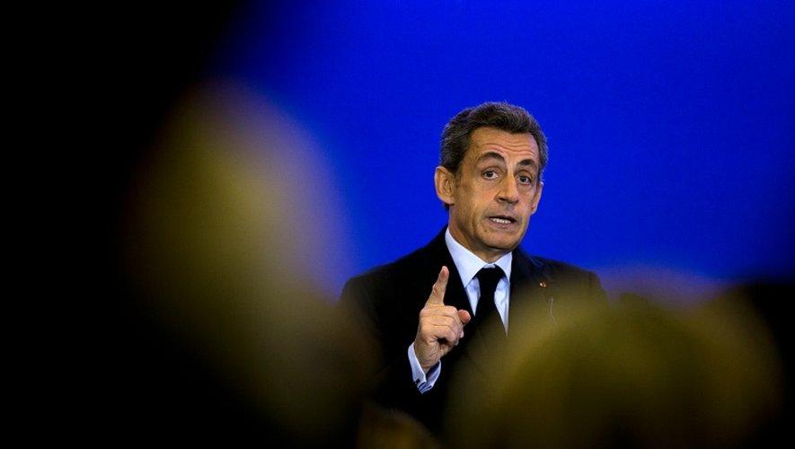 Nicolas Sarkozy, le 10 octobre 2015, à Paris