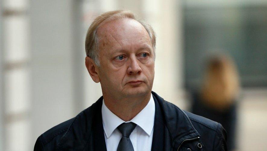 Eric Césari, ancien directeur général, le 9 octobre 2015, à Paris