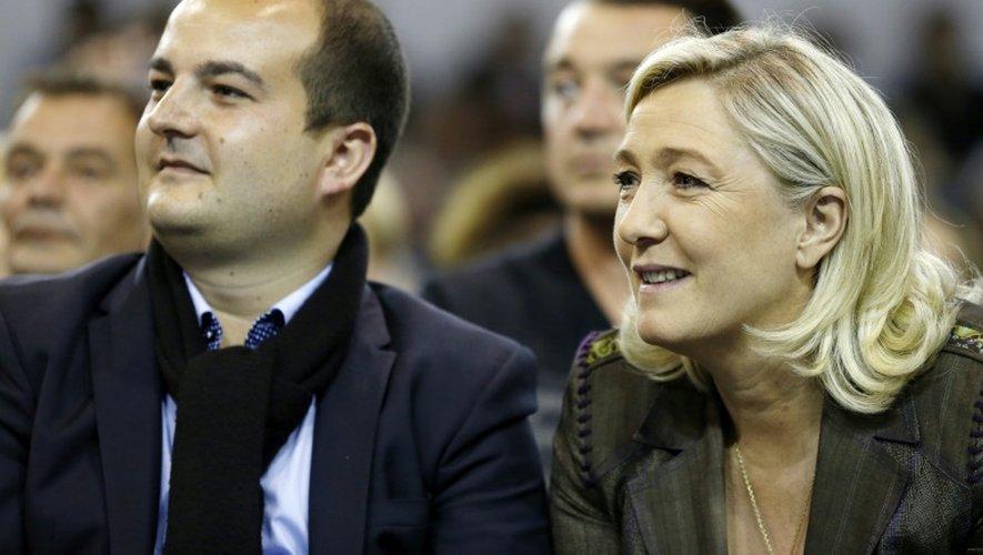 -David Rachline et Marine Le Pen à Fréjus, le 18 mars 2014