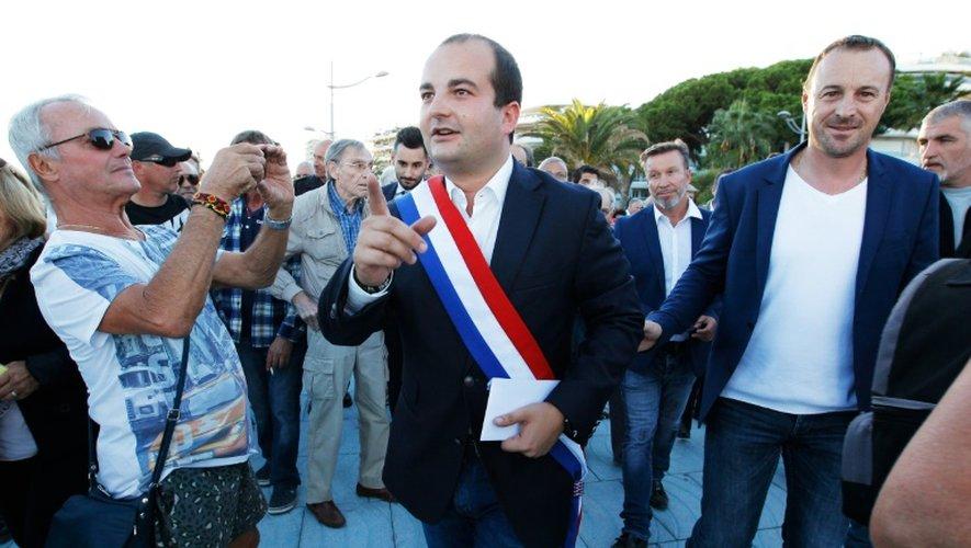 Le sénateur-maire de Fréjus David Rachline, le 24 septembre 2015.