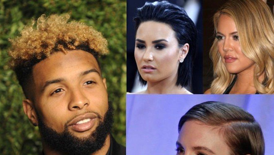 Odell Beckham, Demi Lovato, Khloé Kardashian et Lena Dunham