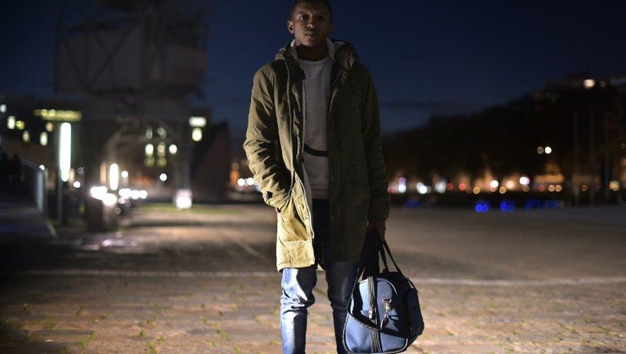 Thierno Diallo le 4 novembre 2015 à Strasbourg