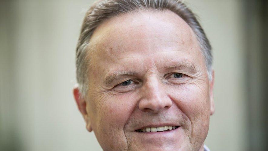 Georg Pazderski, candidat de l'AfD, vote à Berlin le 18 septembre 2016