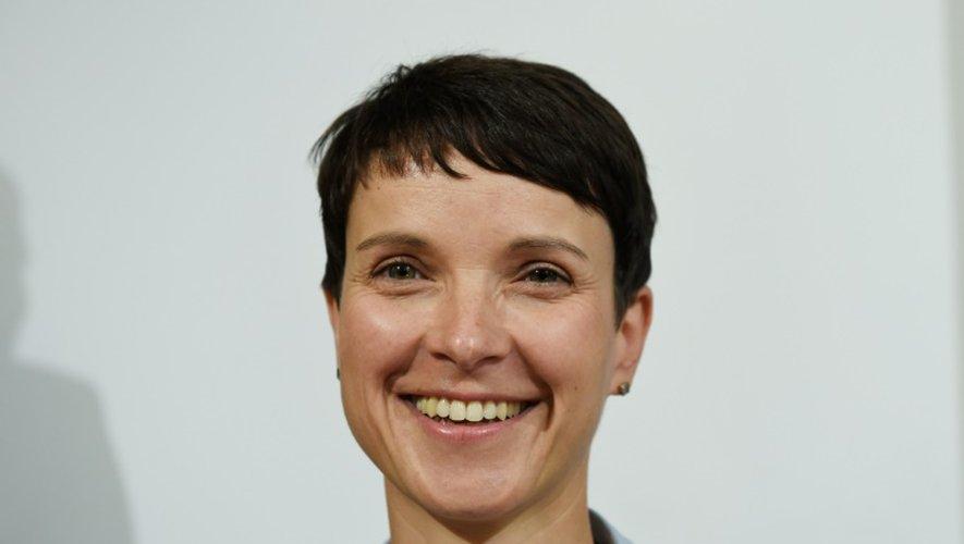 La dirigeante de l'AfD Frauke Petry à Berlin, le 5 septembre 2016