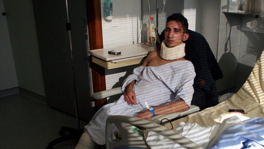 Mehdi Denis, toujours hospitalisé à Rodez se confie à Centre Presse.