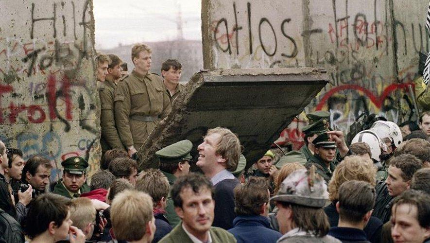 Week-end de fête à Berlin pour les 25 ans de l'ouverture du Mur