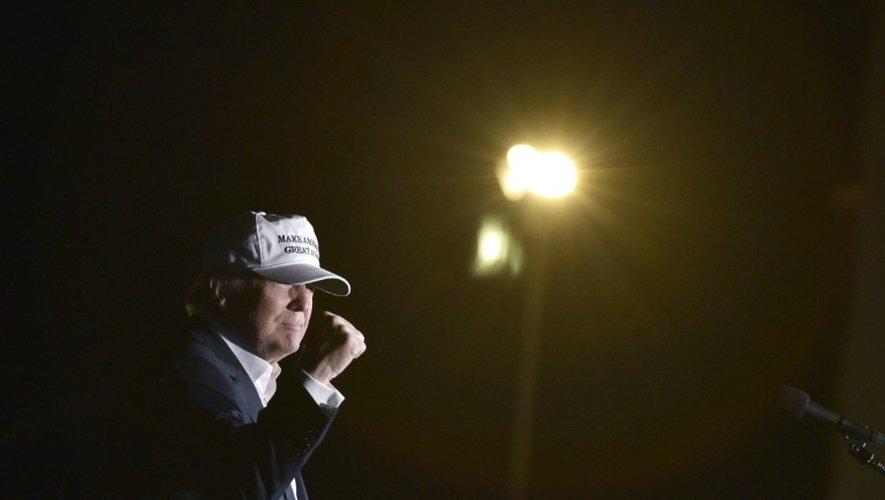 Le candidat républicain, Donald Trump lors d'un meeting à Colorado Springs (Colorado), le 17 septembre 2016