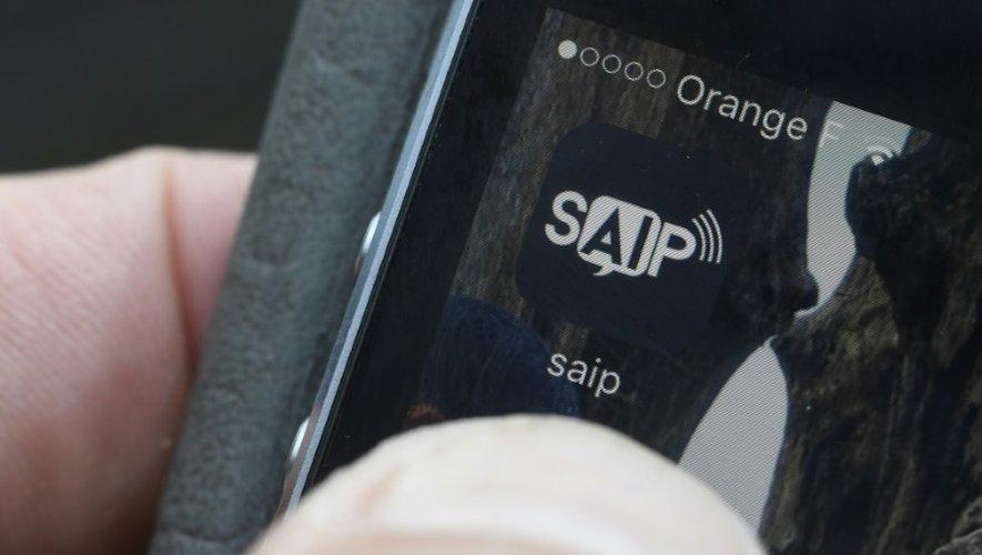 """Via l'application pour smartphone SAIP (Système d'alerte et d'information aux populations), les autorités avaient même délivré un message """"église - alerte attentat"""""""
