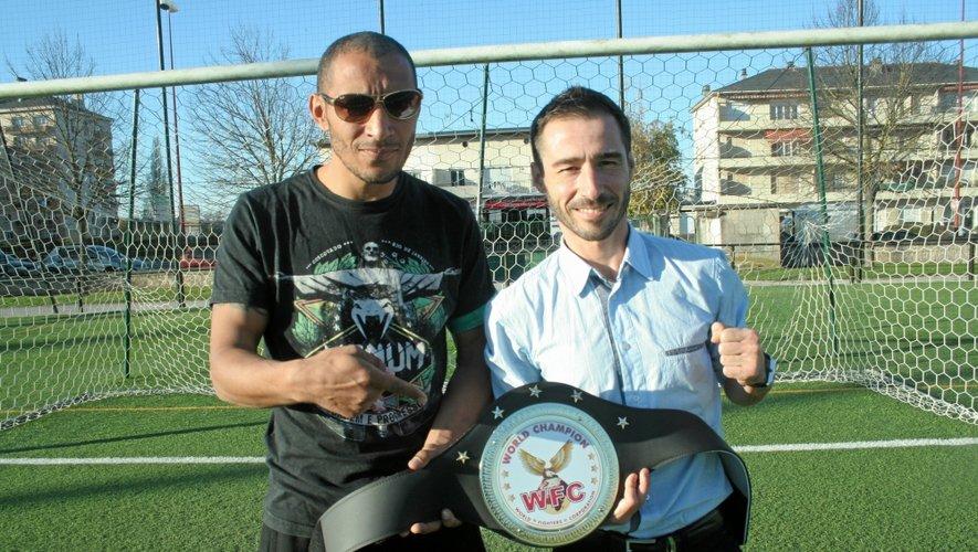 L'entraîneur Bob Oublal et Nicolas Hantz, ex-footballeur, ont atteint leur but.