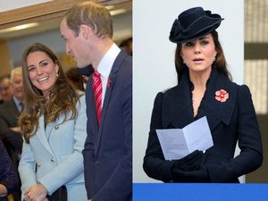 Kate Middleton : Baby Bump de Poppy Day