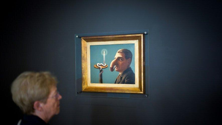"""L'exposition """"Magritte, la trahison des images"""", le 20 septembre 2016 au Centre Pompidou à Paris"""